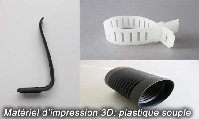 Photo of Matériel d'impression 3D: plastique souple