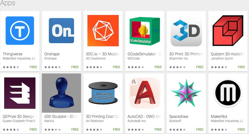 Photo of Top 3D Applications (Apps) pour imprimer en 3D