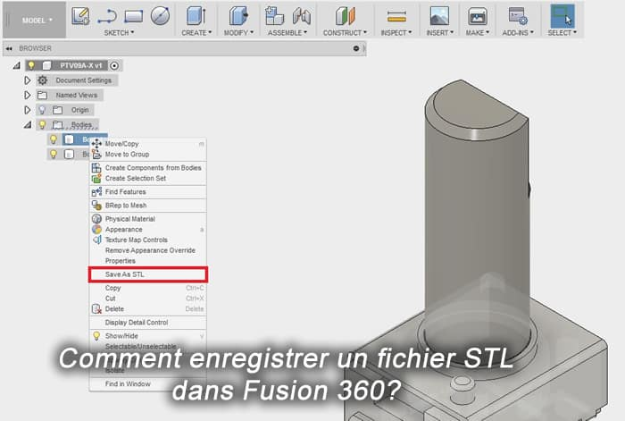 Photo of Comment enregistrer un fichier STL dans Fusion 360?
