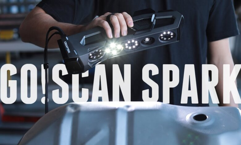 Photo of Nouvelle fonctionnalité: GoScan Spark de Creaform