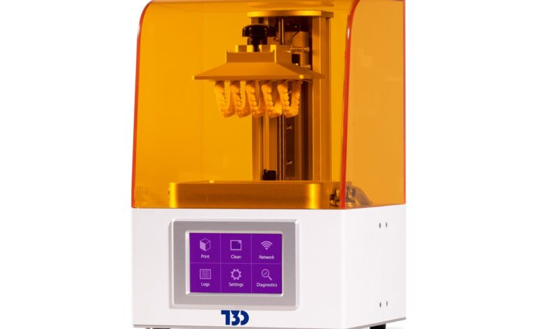 The T3D High Speed LCD 3D printer. Photo via T3D.